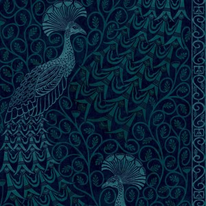 Tapeta flizelinowa Cole & Son Pearwood Collection pawie Pavo Parade 116-8028