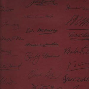 Tapeta Autograph Red